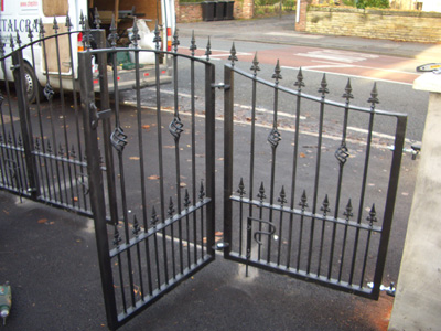 Wrought Iron Gates Cwmbran Metal Gates Pontypool